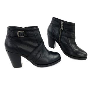 Ariat Ready to Go Leather Heel Booties Boots Shoes